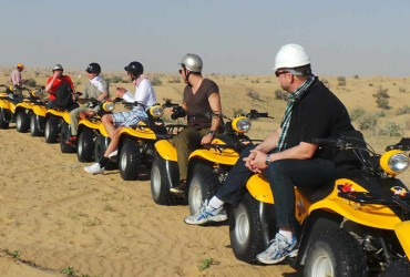Jeepsafari, Barbecue en Quad Tour